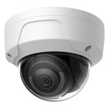 Full HD 4MP True WDR 2.8mm Fixed Lens IP Dome Camera, Exterior (White) - 101AVInc.