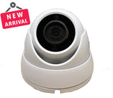 5 Megapixel 4in1 TVI/AHD/CVI/CVBS(960H) 3.6mm Lens Security Surveillance Dome Camera DWDR IR Cut OSD menu for Indoor Outdoor CCTV Home Office (White) - 101AVInc.