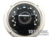1080P TVI/AHD/CVI/CVBS 2.8-12mm Varifocal Lens In/Outdoor IR Dome Camera (DC12V) - 101AVInc.