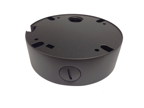 MOUNTING JUNCTION BOX FOR 4in1 3.6mm/2.8mm FIXED LENS DOME CAMERA FDT-28 & FDT-36 (CHARCOAL) - 101AVInc.