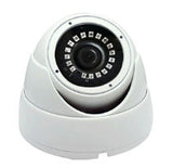 2MP 4in1 TVI/AHD/CVI/CVBS 2.8mm Fixed Lens Surveillance Dome Camera DWDR OSD menu Indoor Outdoor for CCTV DVR Home Office Surveillance Security (White) - 101AVInc.