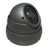 [Package] 8CH True-HD 5in1 TVI/CVI/AHD/CVBS DVR + 1080P 2.8-12mm Lens Varifocal In/Outdoor Dome Cameras (Charcoal) - 101AVInc.