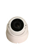 [Package] 8CH True-HD 5in1 TVI/CVI/AHD/CVBS DVR + 1080P SONY STARVIS 2.8-12mm Lens Varifocal In/Outdoor Dome Cameras(White) - 101AVInc.
