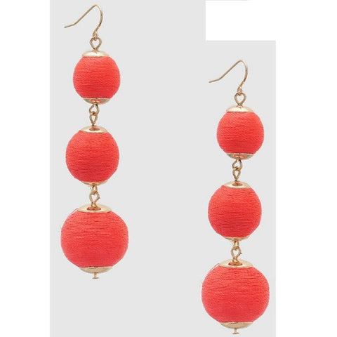 Coral Nicole Earrings