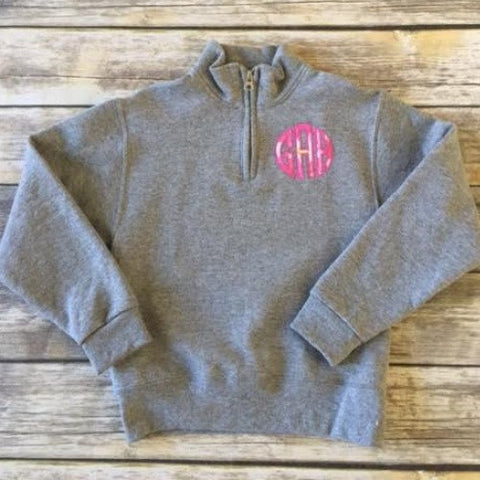 Youth Applique Monogram Item