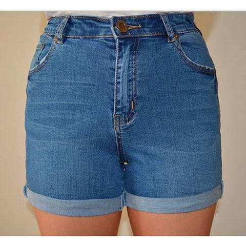 69939 Cuff Denim Short