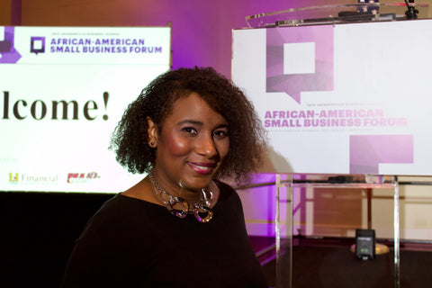 Casey Kelley at Jacksonville Business Journal African-American Business Forum