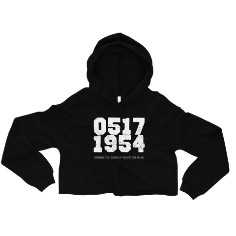 0517 Education To All - Crop Hoodie