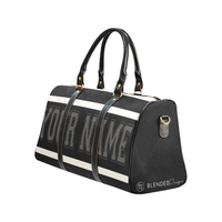 Personalized Travel Bag - Black
