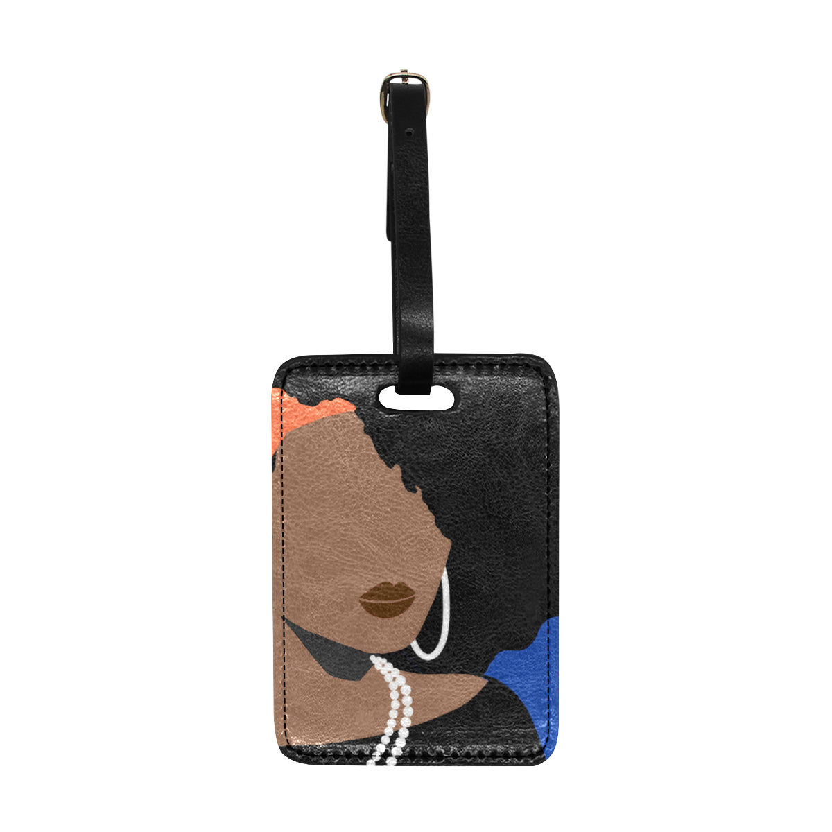 Bougie Jenee 1882 Luggage Tag