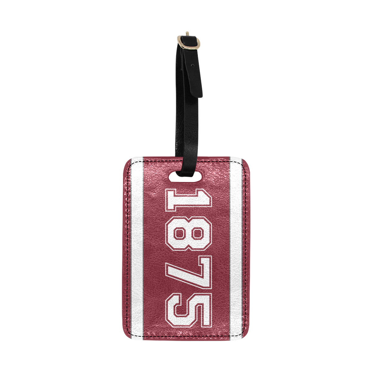 Date Margaret 1875 Luggage Tag