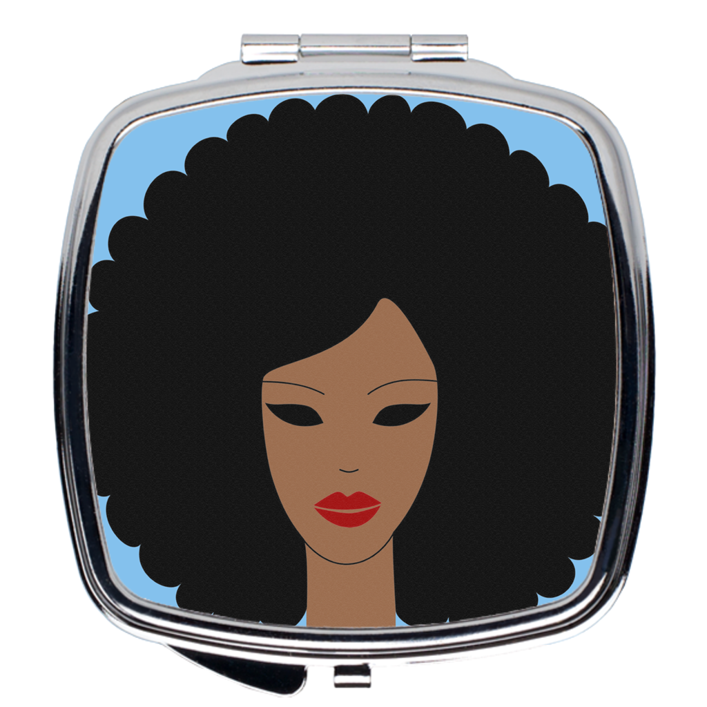 Soul Sister - Corliss 1881 Compact Mirror