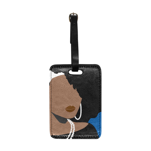 Bougie Angela 1962 Luggage Tag