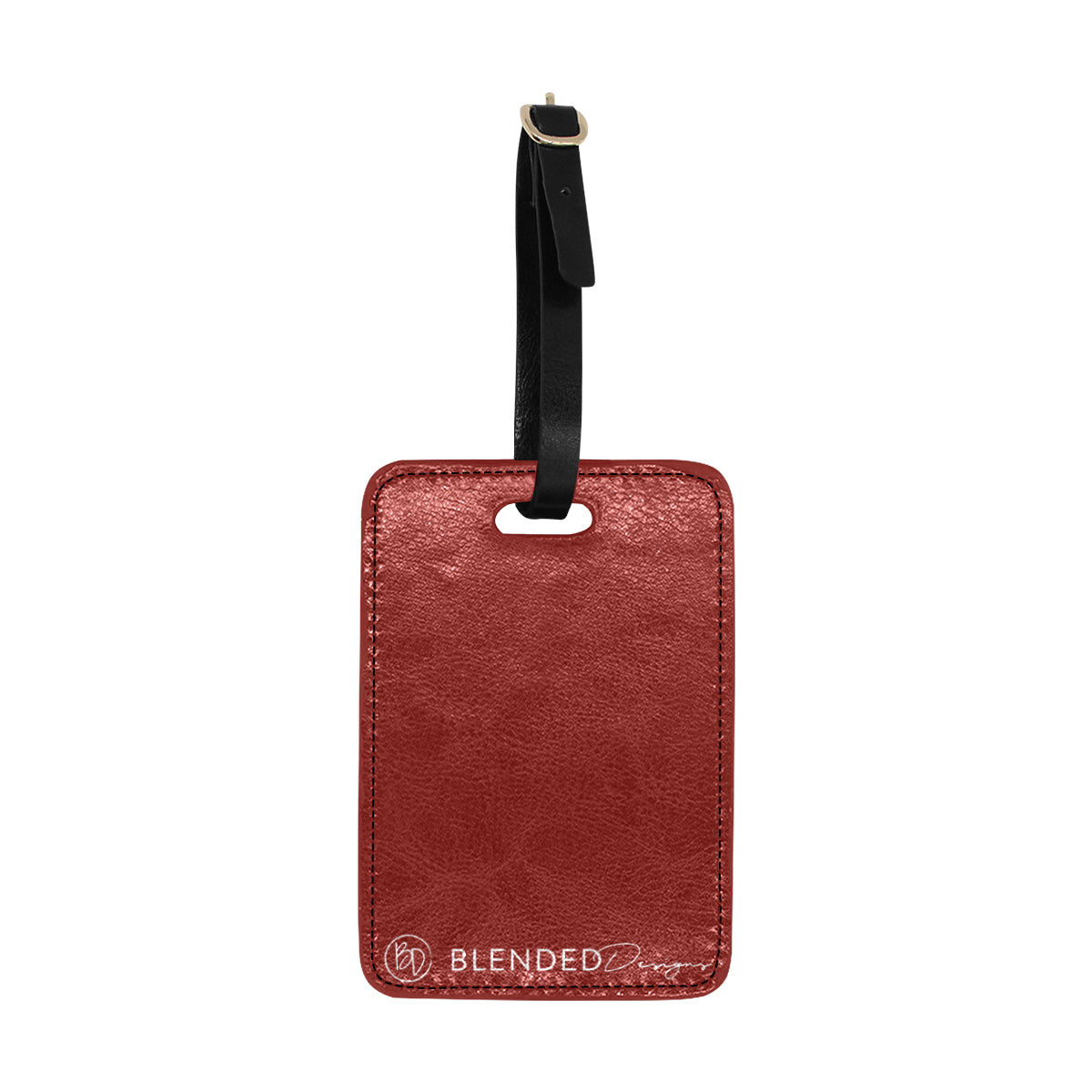 Diamond Inspired Luggage Tag