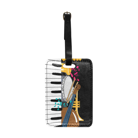 Jazz Luggage Tag