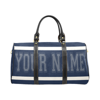 Personalized Travel Bag - Dk Blue