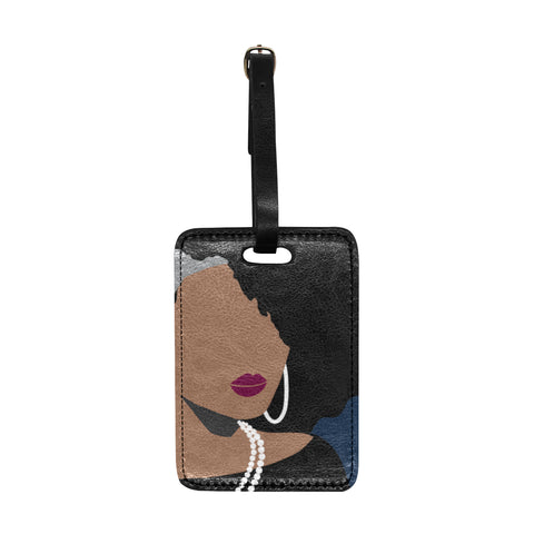Bougie Susan 1866 Luggage Tag