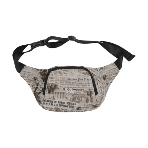 1954 The Headlines Fanny Pack (brown)