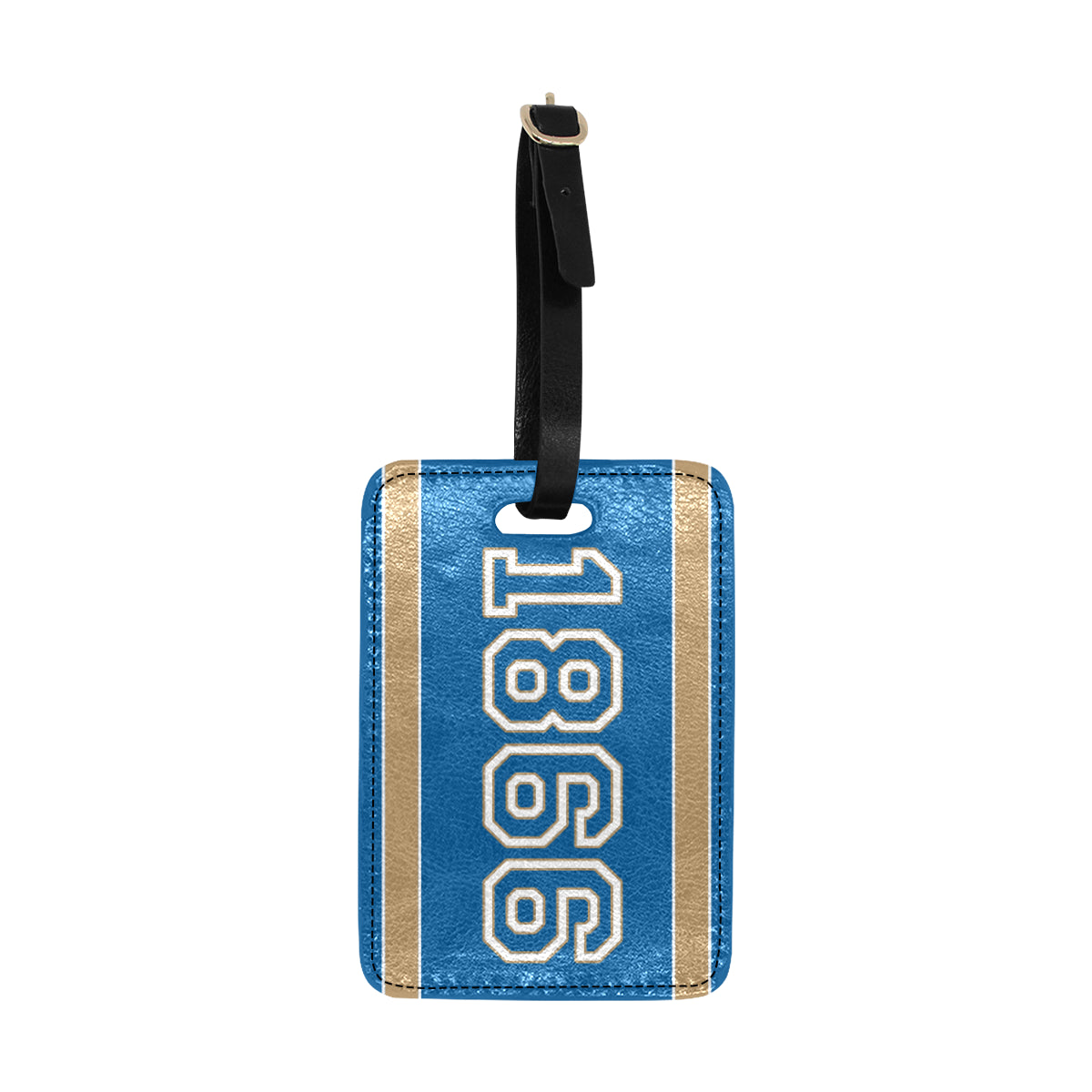Date Casey 1866 Luggage Tag