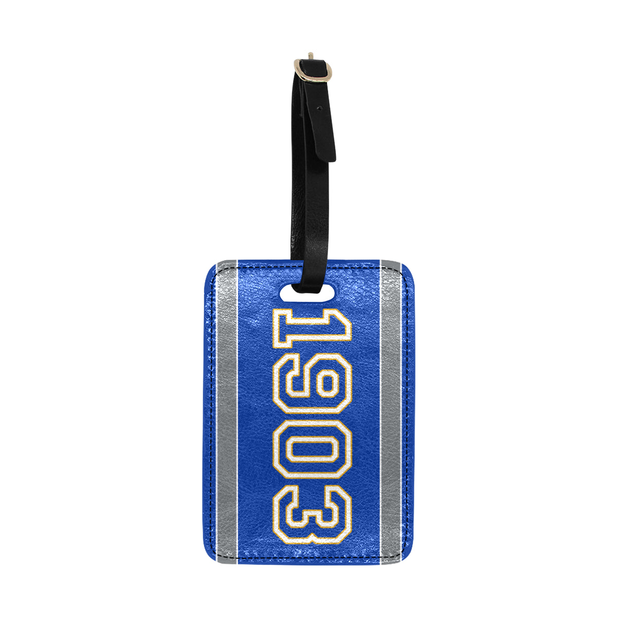 Date Psalm 1903 Luggage Tag