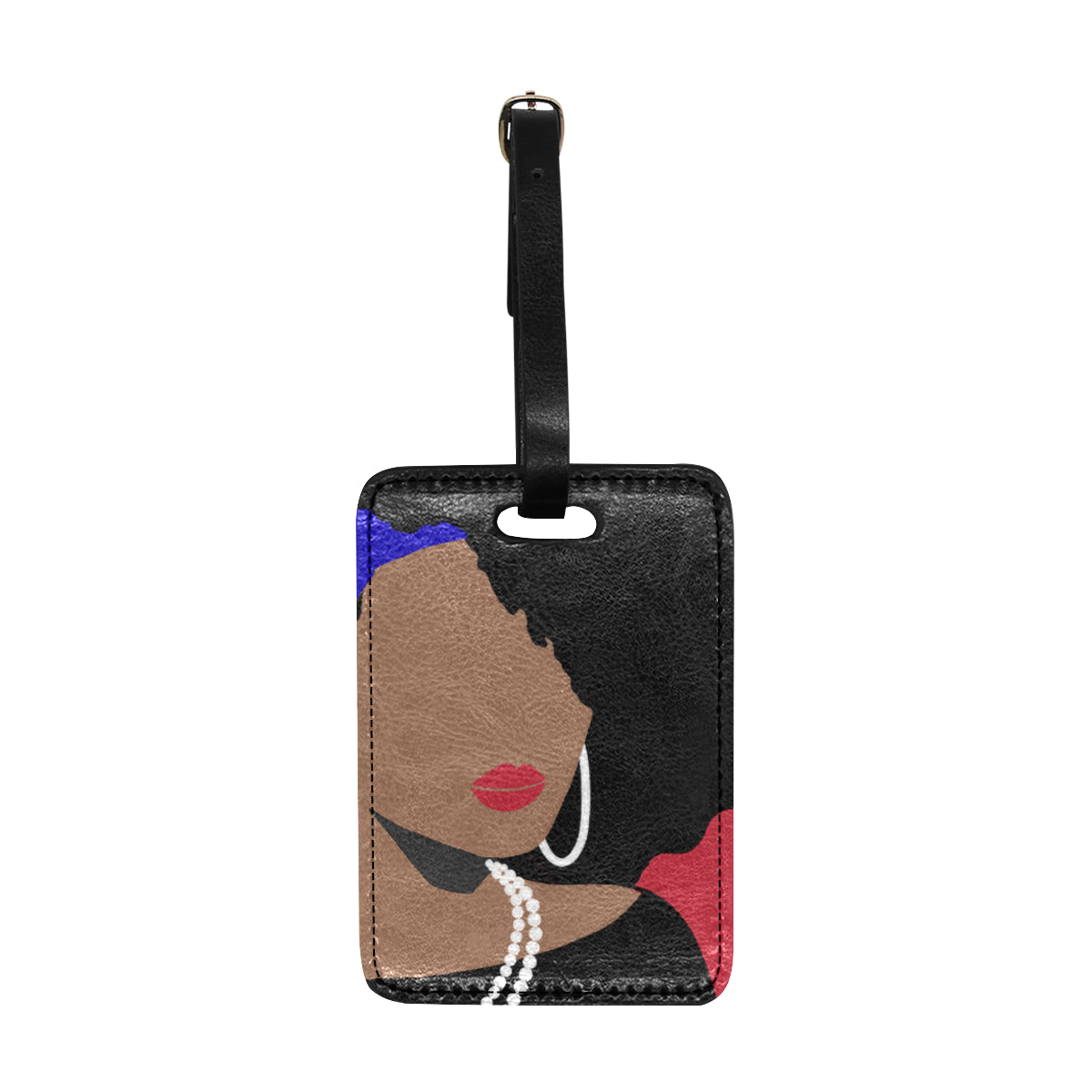Bougie Brittany 1882 Luggage Tag