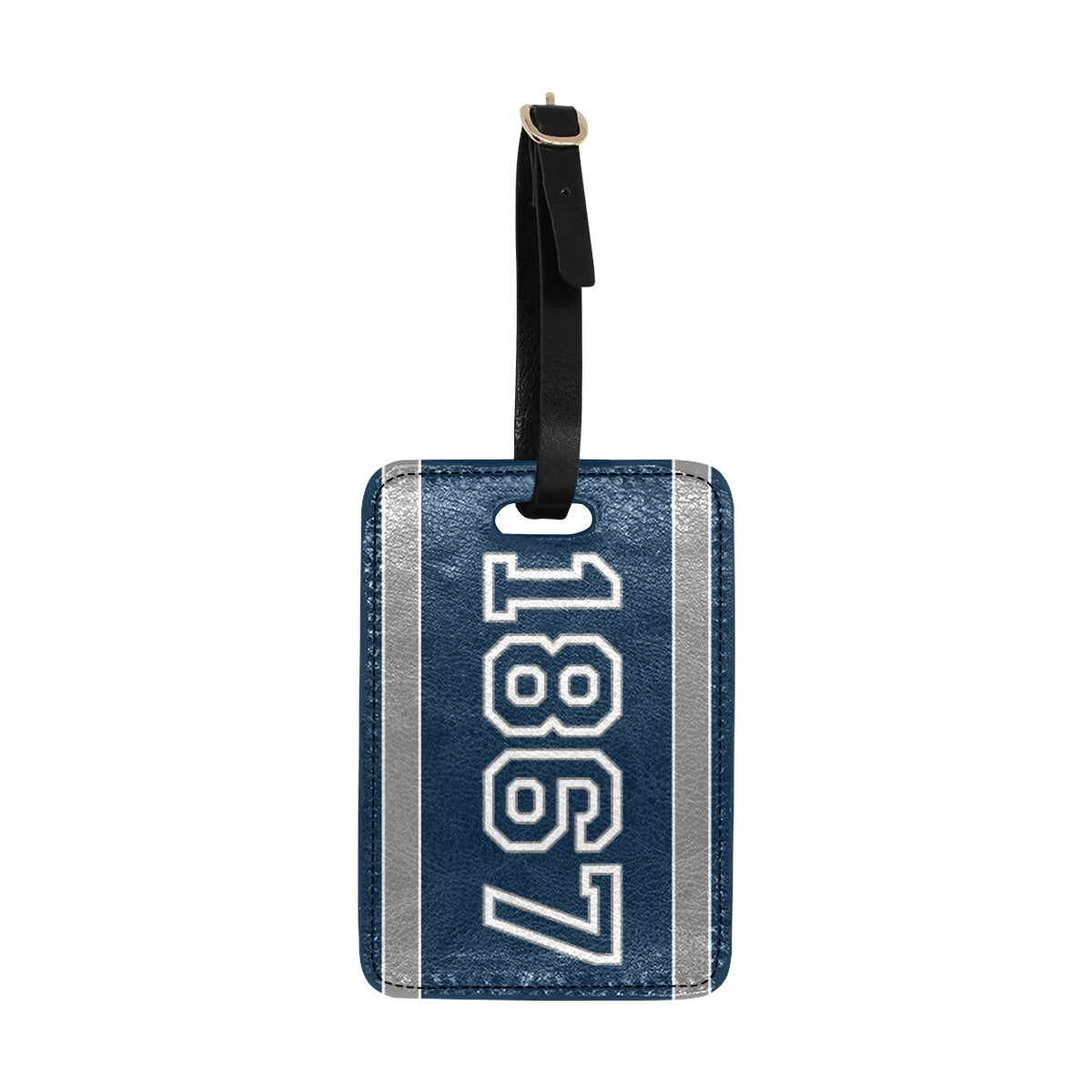 Date Patricia 1867 Luggage Tag