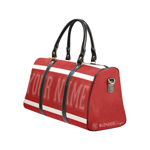 Personalized Travel Bag - Red