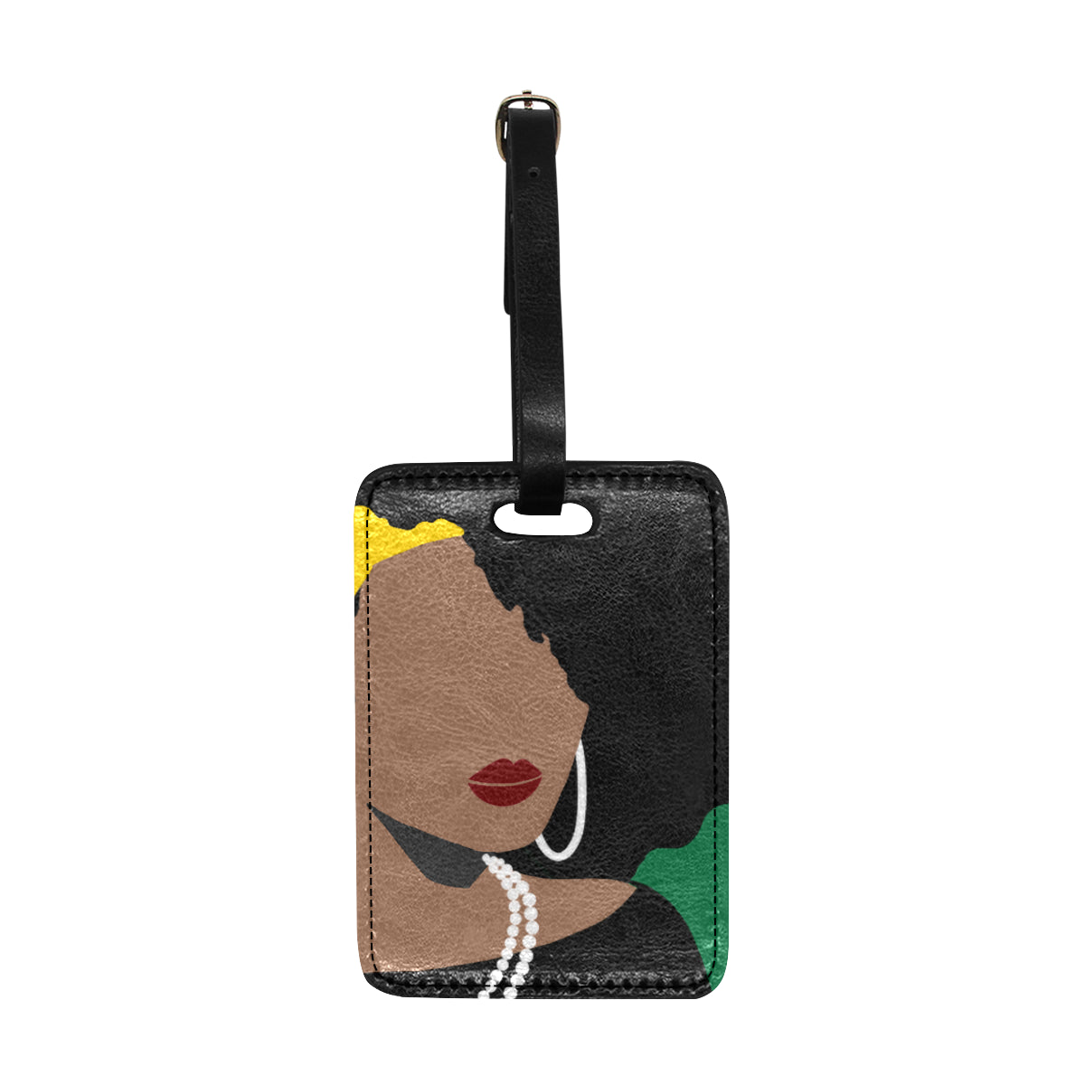 Bougie Dominique 1886 Luggage Tag