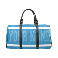 Personalized Travel Bag - Lt Blue