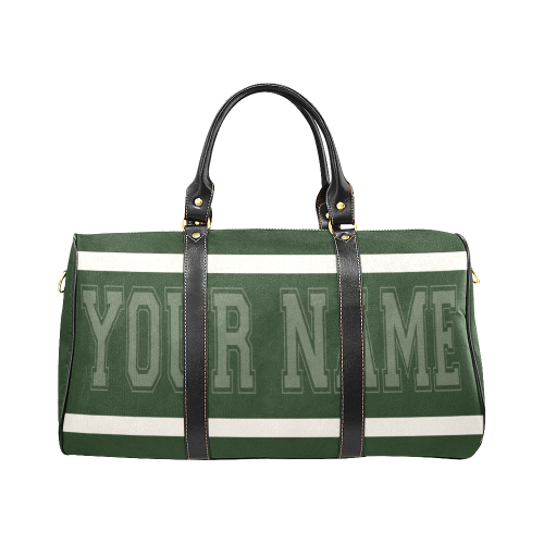 Personalized Travel Bag - Green