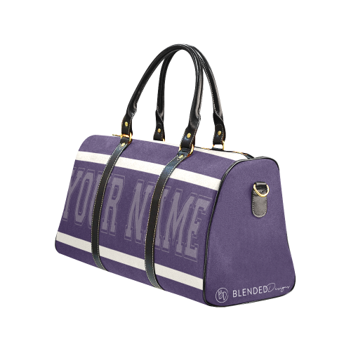 Personalized Travel Bag - Purple