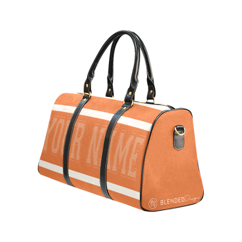 Personalized Travel Bag - Orange