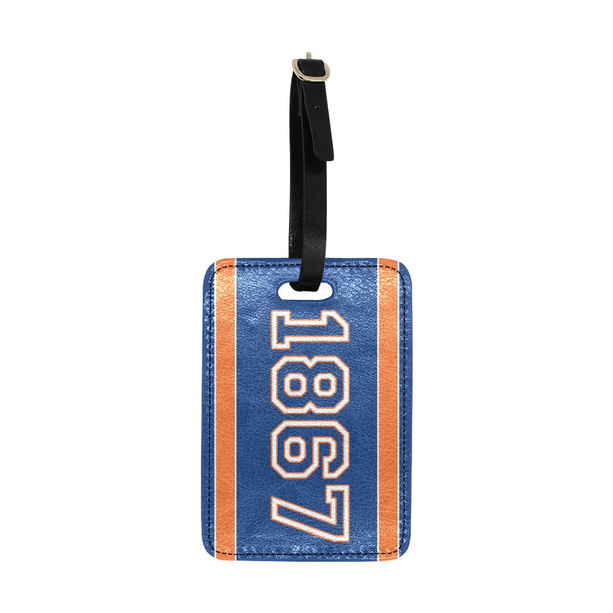 Date Michelle 1867 Luggage Tag