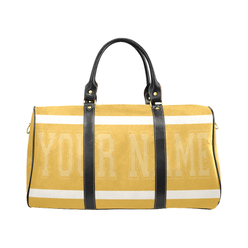 Personalized Travel Bag - Yellow