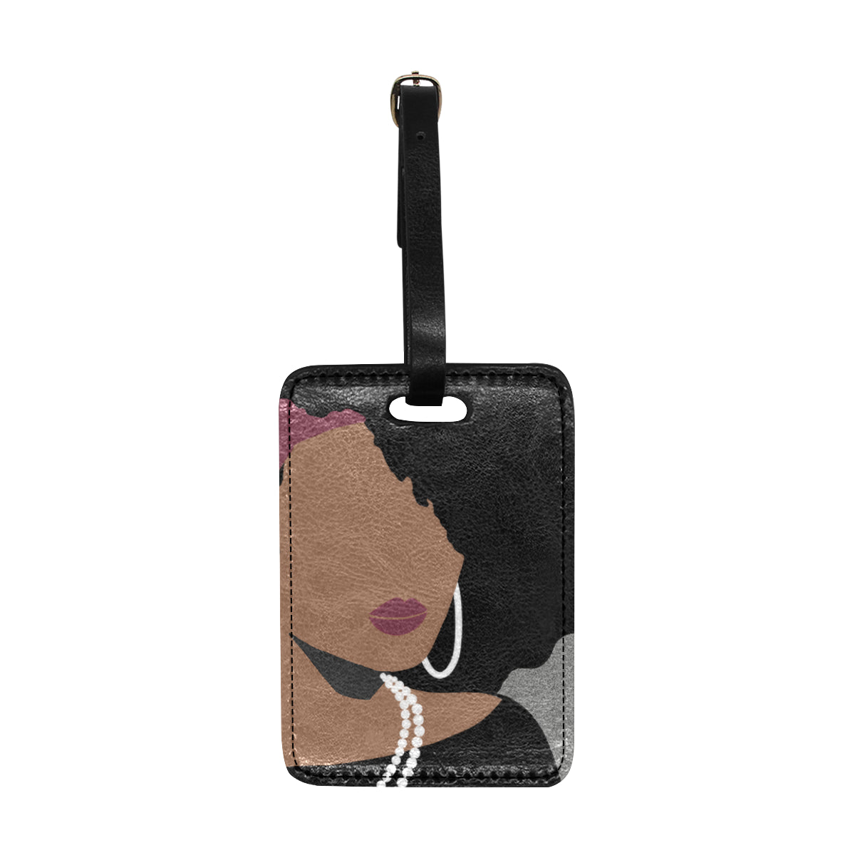 Bougie Kara 1910 Luggage Tag