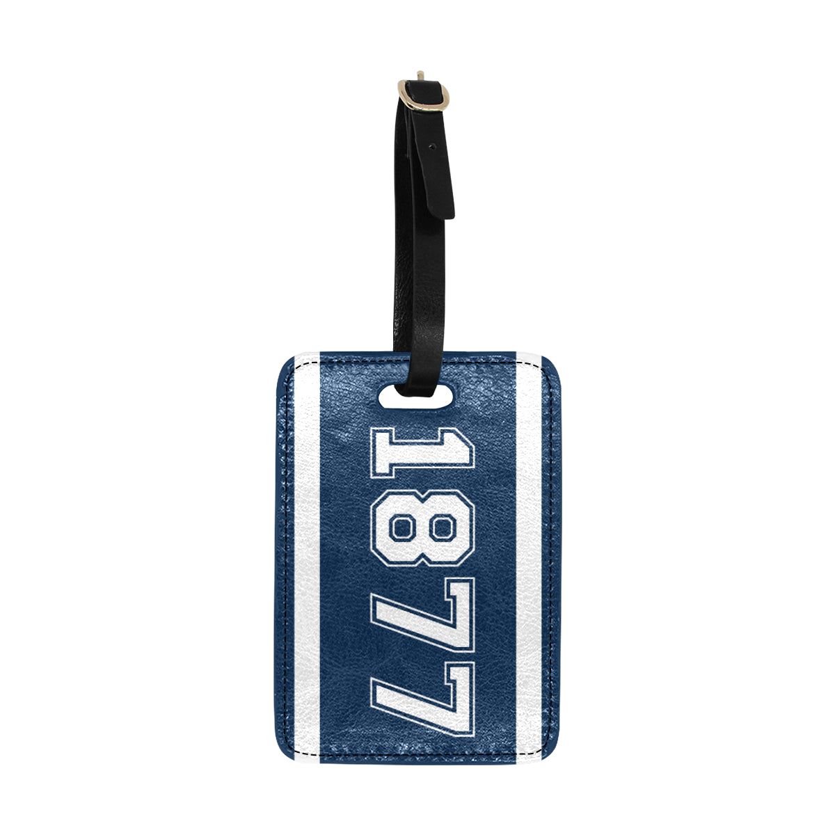 Date Jewel 1877 Luggage Tag