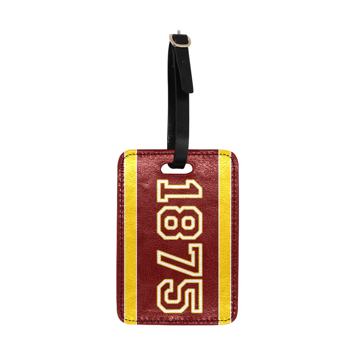 Date Leigh 1875 Luggage Tag