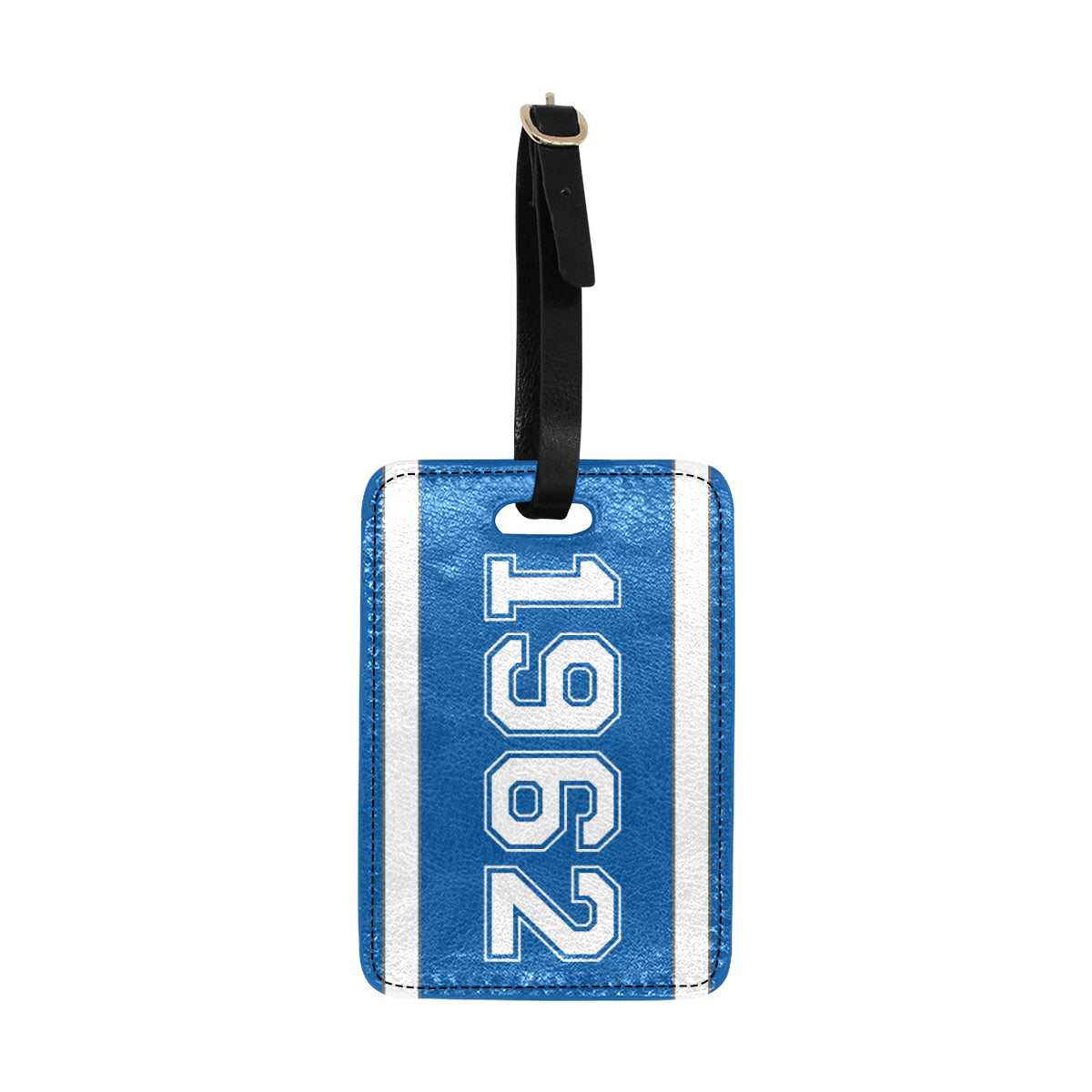 Date Angela 1962 Luggage Tag
