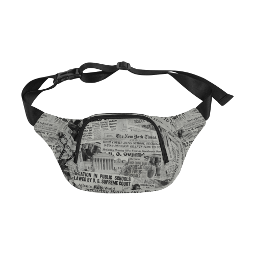 1954 The Headlines Fanny Pack (black)