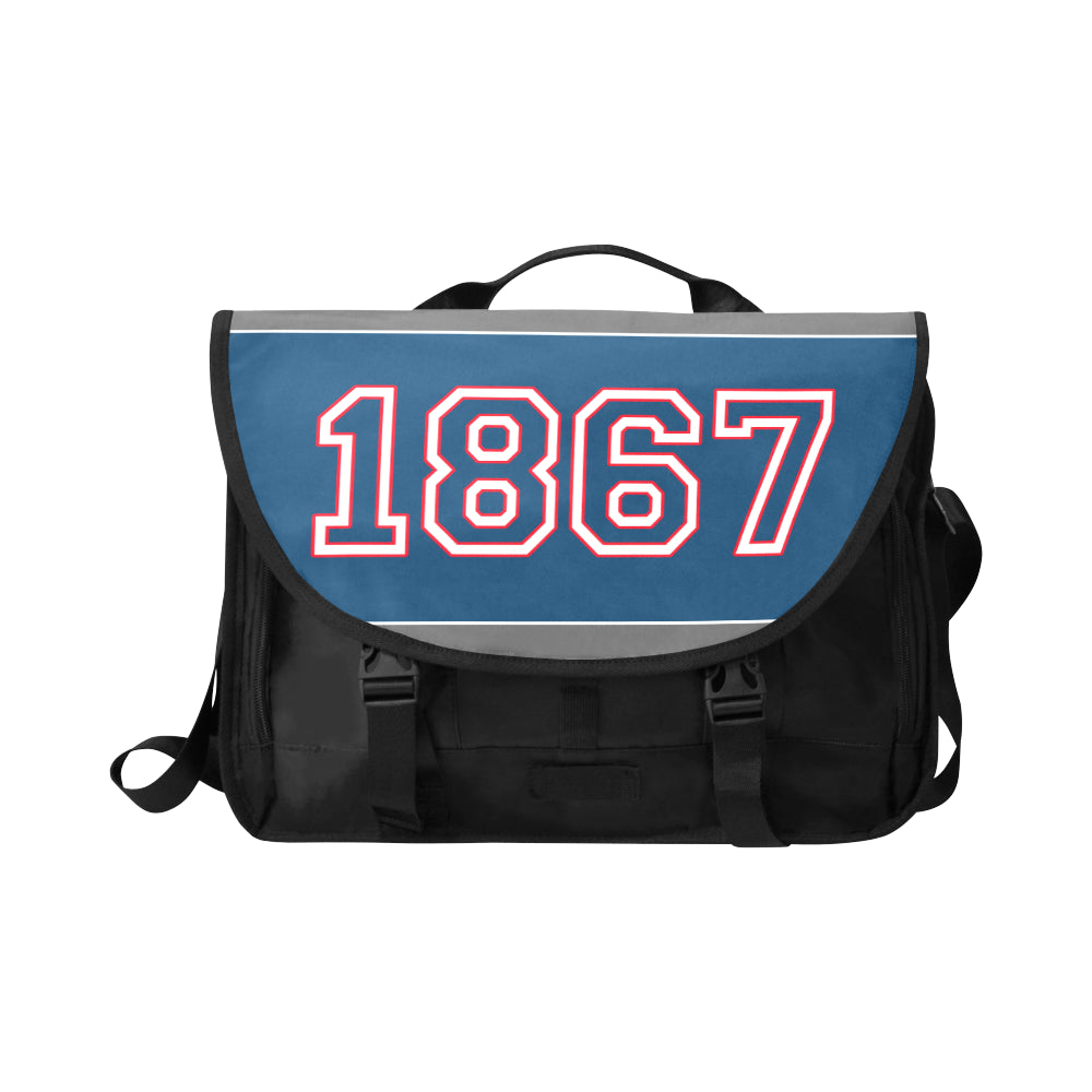 Date - Jaylen 1867 Messenger Bag