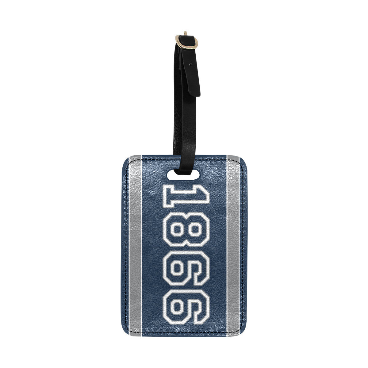Date Susan 1866 Luggage Tag