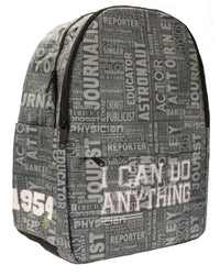 I Can Do Anything Professions Backpack - Grey