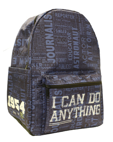 I Can Do Anything Professions Backpack - Navy