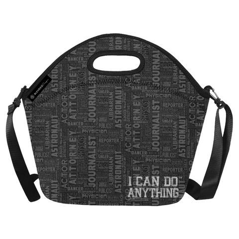 Professions Black Lunch Bag