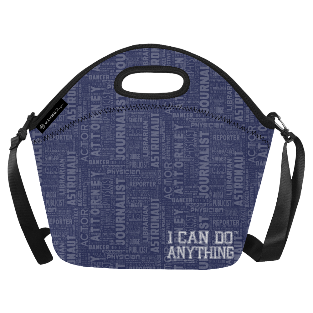 Professions Navy Lunch Bag