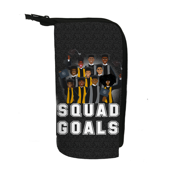 Squad Goals II Pencil Case