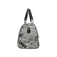 1954 The Headlines Travel Bag