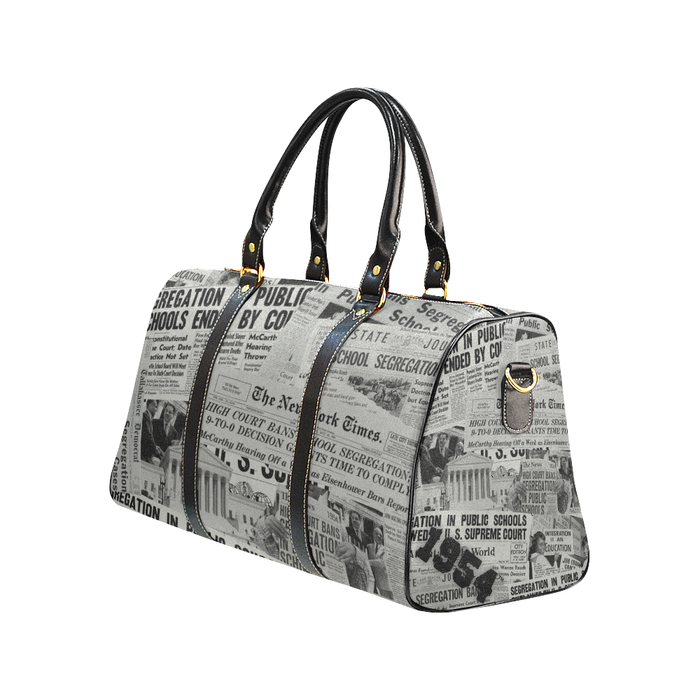 1954 The Headlines Duffle Bag