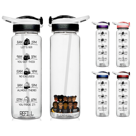 Squad Goals Motivational Water Bottle
