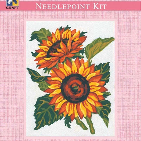 Needlepoint Kit - Sunflower - Hands Craft Store